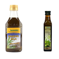 Hemp seed oil cold-pressed